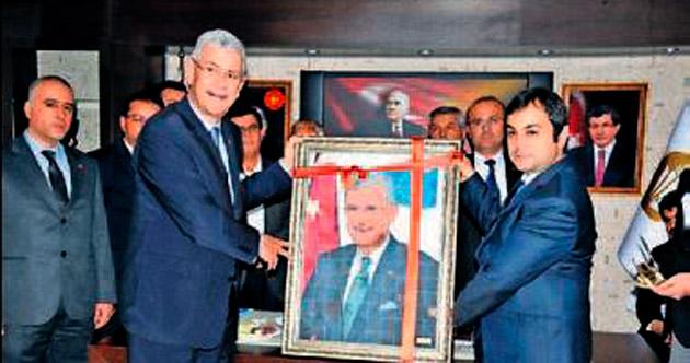 Bakan Bozkır'dan Bucak'a destek