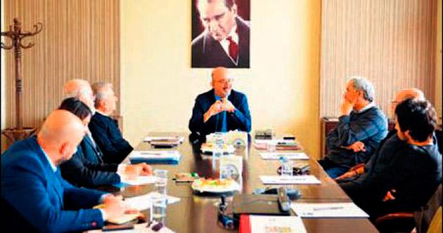 DT Edebi Kurul toplantısı yapıldı