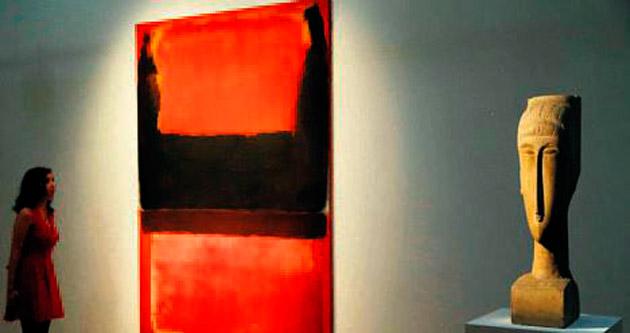 İki Rothko'ya 76.6 milyon $