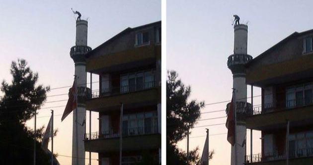 Allah'a emenat minare yıkımı