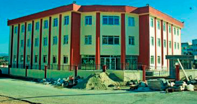 Emniyet binası Aralık'ta hizmette