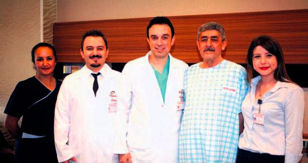 Prostat kanserli hasta 3 boyutlu operasyonla sağlığına kavuştu