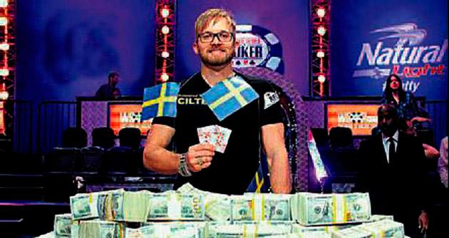 Poker şampiyonu 10 milyon $ aldı