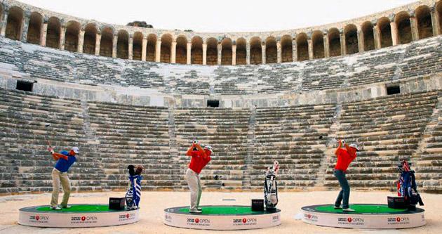 Golfün kalbi Antalya'da atacak