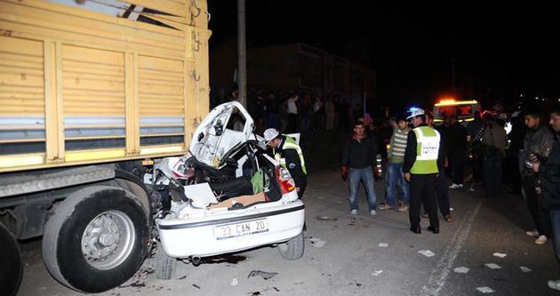 Mersin'de feci kaza: 4 ölü