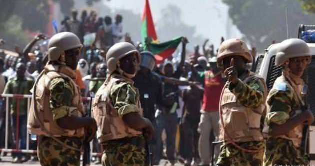 Burkina Faso'da yönetim sorunu