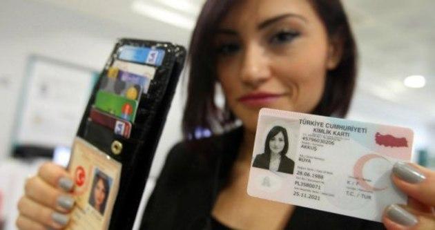 25 Milyon kişiye elektronik kimlik dağıtılacak