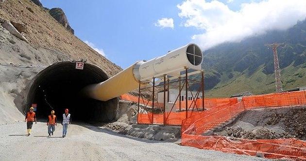 Ovit Tüneli'nde çalışmalar eksiklikler nedeniyle durduruldu