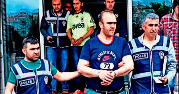 Taksi gaspçıları tutuklandı