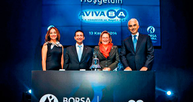 AvivaSA'dan borsaya 1.800 yeni yatırımcı