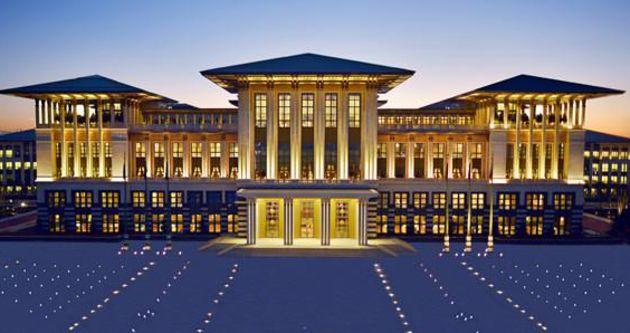 Cumhurbaşkanlığı Sarayı'nda tarihi kabul