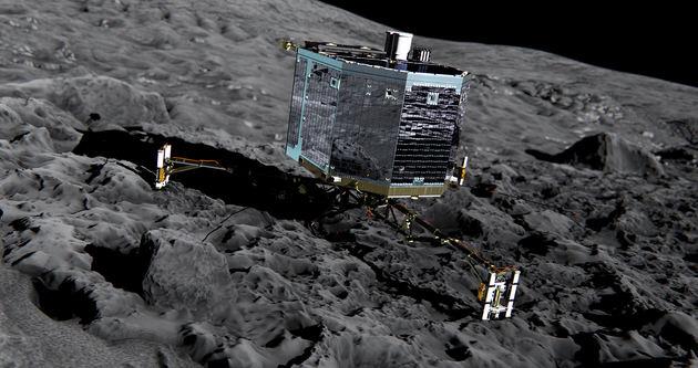 10 Yıl önce gönderilen Philae'nin enerjisi bitmek üzere