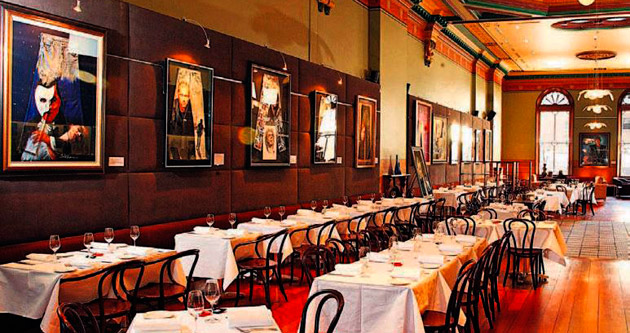 Restoranları sanat bastı