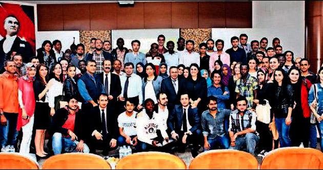 Çukurova Üniversitesi yabancı gençlere tanıtıldı
