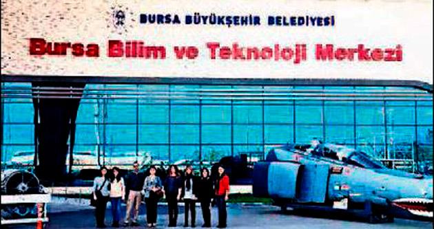 Bursa ve İstanbul'a bilim merkezi gezisi