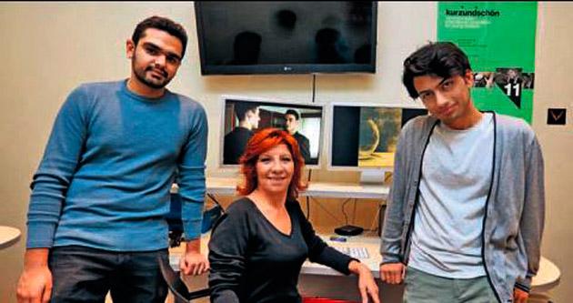 Genç yönetmenler Almanya yolcusu