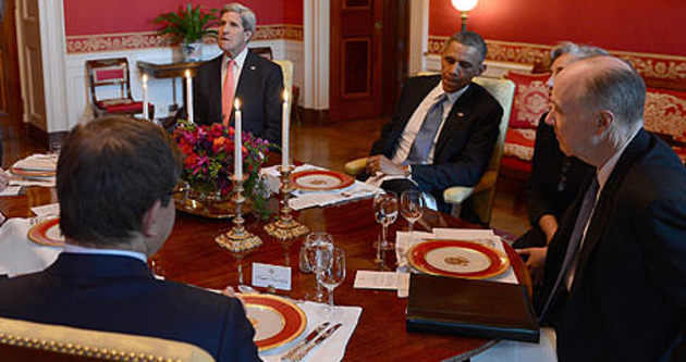 Başbakan Davutoğlu, Obama ile Irak'ı görüştü