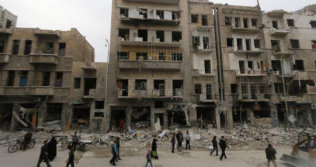 Halep'te 1.5 milyon insan kaderine terk edilir