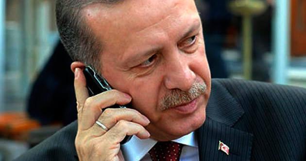 Erdoğan'dan Sibsi'ye tebrik telefonu