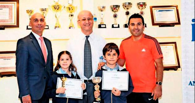 Öğrencilerin satranç başarısı