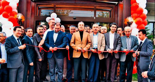 Açılışı Bakan Mehdi Eker yaptı
