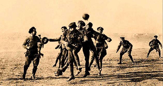 Samandan bir topun savaşa gol attığı gün