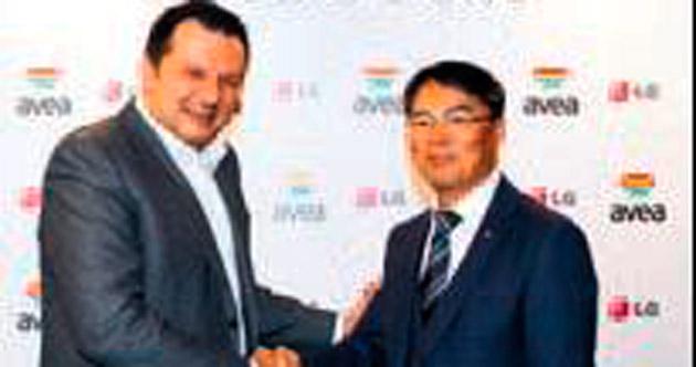 Avea ile LG Electronics güçlerini birleştirdi