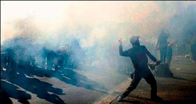 İtalya'da göçmen karşıtı protesto