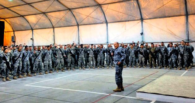 Yeni IŞİD stratejisi için sürpriz Bağdat ziyareti