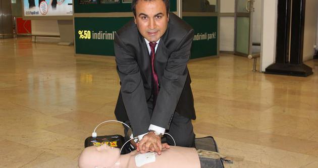 Havalimanlarında hayat kurtaracak cihaz