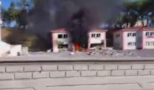 Manavgat'ta okulda patlama!