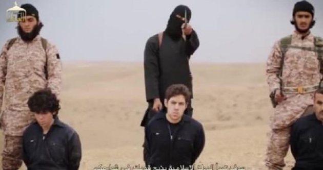 IŞİD esirleri toplu şekilde infaz etti