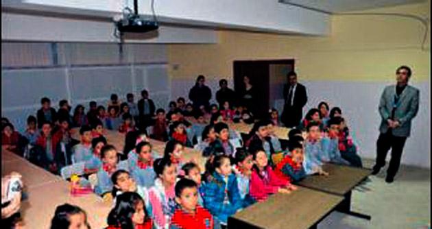 Öğrencilere atık ambalaj semineri