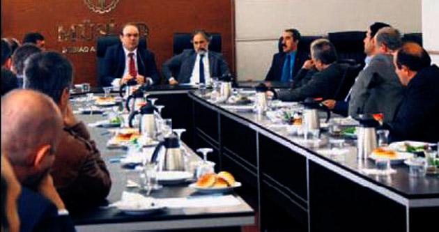 MÜSİAD Ankara Çam'ı konuk etti