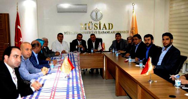 MÜSİAD'ın dost meclisi Yılmaz Şahin'i ağırladı