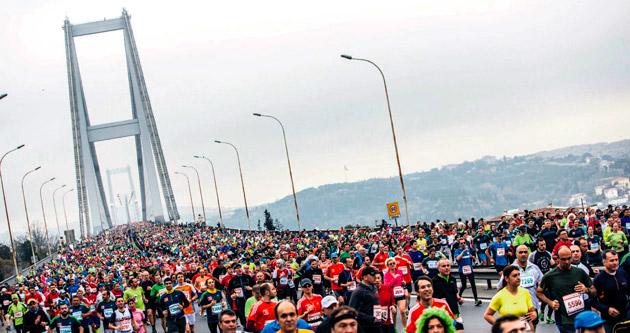 Birbirlerine koşanların maratonu