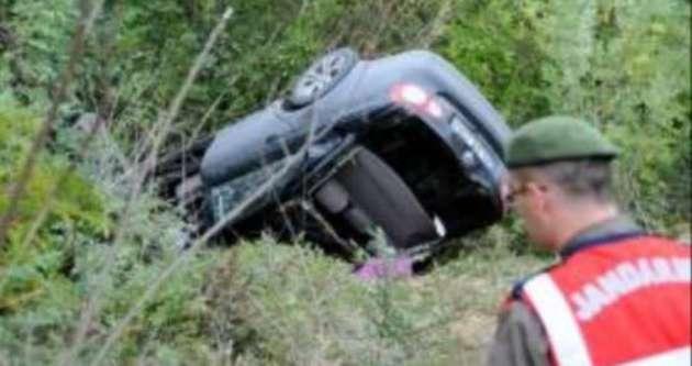 AK Partili Başkan  ve eşi kaza geçirdi