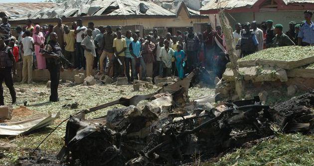 Nijerya'da pazar yeri kana bulandı
