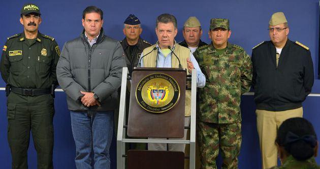 Kolombiya, FARC barışını askıya aldı
