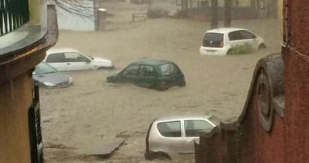 Fransa ve İtalya sel ile boğuşuyor