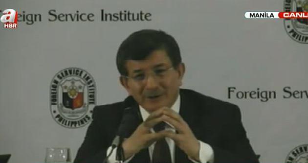 Davutoğlu: Barışçıl ortamlar için çalışmaya devam edilecek