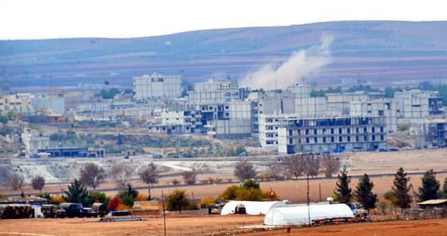 Kobani'deki Miştenur tepesinin kontrolü Kürt gruplara geçti