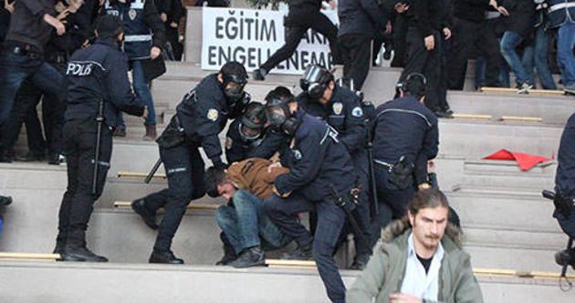 Bolu'da 44 öğrenci gözaltına alındı
