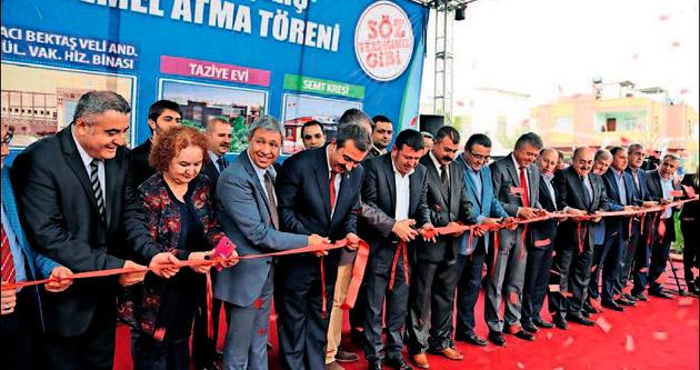 Türkiye'nin en büyük cemevi Çukurova'da