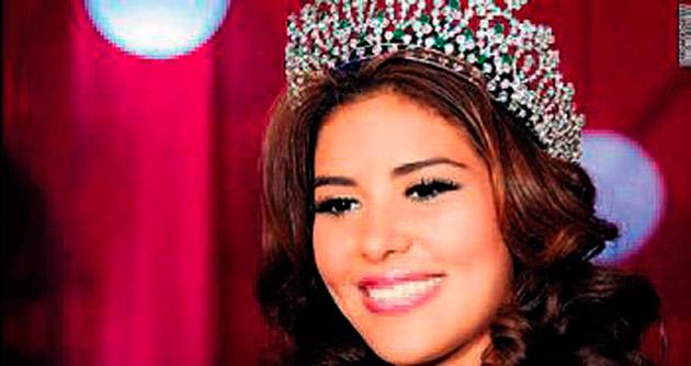 Honduras güzeli kayboldu