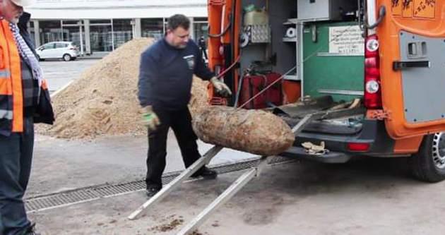 Almanya'da 250 kiloluk bomba