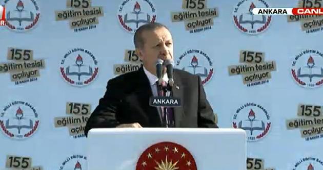 Erdoğan toplu açılış töreninde konuştu
