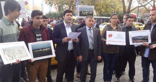 Kızılay'da Cumhurbaşkanlığı Sarayı'na destek eylemi