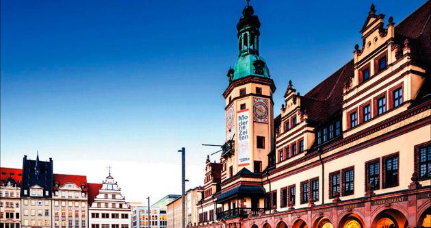 Müzik, sanat ve festivaller şehri Leipzig