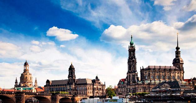 Küllerinden doğan kent Dresden